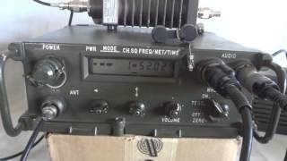 AN/PRC-1088 ECCM secure military man pack radio