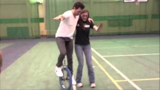 Andy Grammer Tour Videos - Basketball & Unicycling