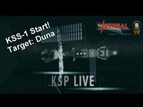 KSP Live#11 - KSS-1 Start! Target: Duna