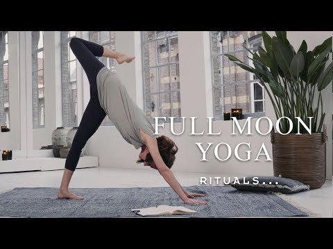 Full Moon Practice  - Yoga with Rituals