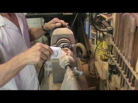 Wood turning Lathe test amazing finish by Al Furtado