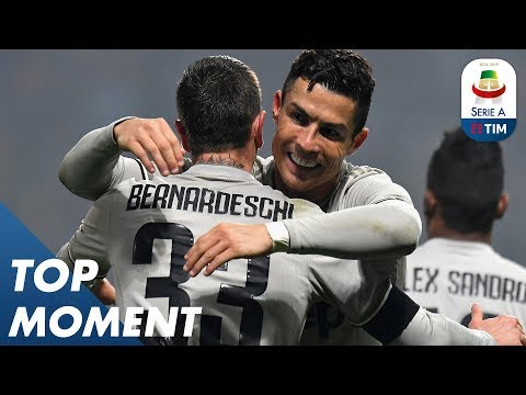 Ronaldo scored his 20th Juventus goal | Sassuolo 0-3 Juventus | Top Moment | Serie A