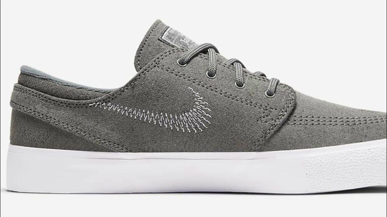 Review Nike SB Zoom Stefan Janoski FL RM Tumbled Grey - YouTube