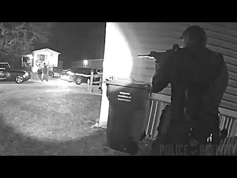 Bodycam Footage Of Deputies Shooting Armed Suspect In Greenville, South Carolina