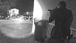 Bodycam Footage of Deputies Shooting Armed Suspect in Greenville, South Carolina