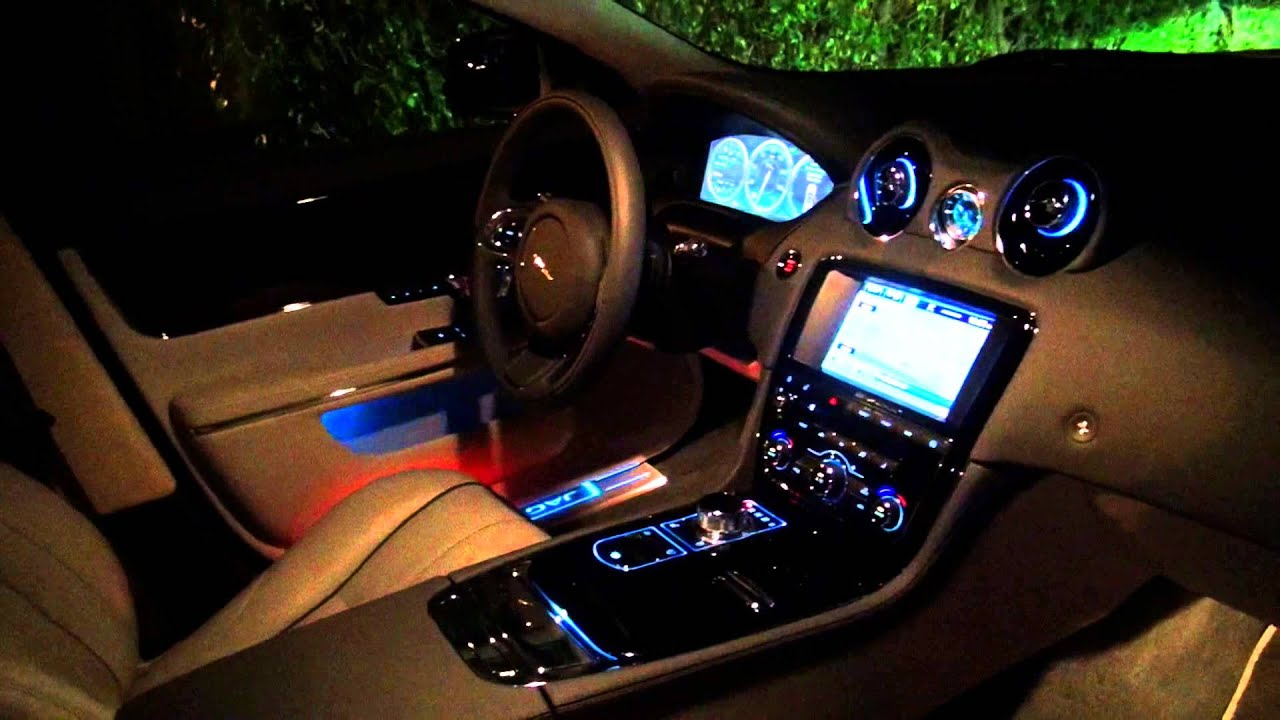 2015 Jaguar Xjl Portfolio Awd Interior Lighting System