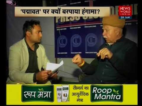 NWI Exclusive 'Vijay Chowk': In Conversation With Lokendra Singh Kalvi On 'Padmavati'