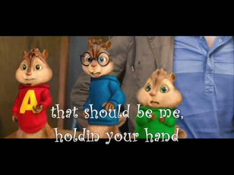 Justin Bieber That should be me with lyrics: chipmunks version