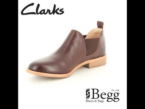 popular design for whole family big selection of 2019 Clarks Edenvale Page D Fit Tan Leather shoe-boots