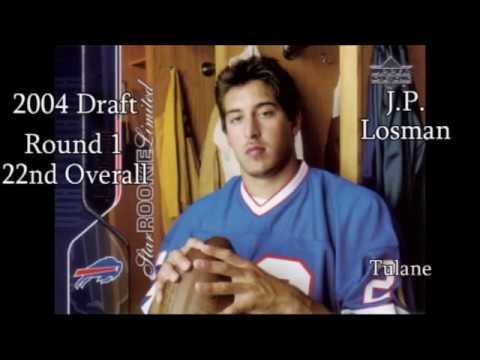 Bills QB Draft History