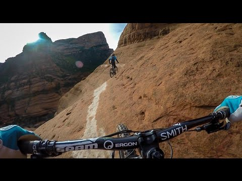 Mountain Biking the White Line in Sedona, Arizona