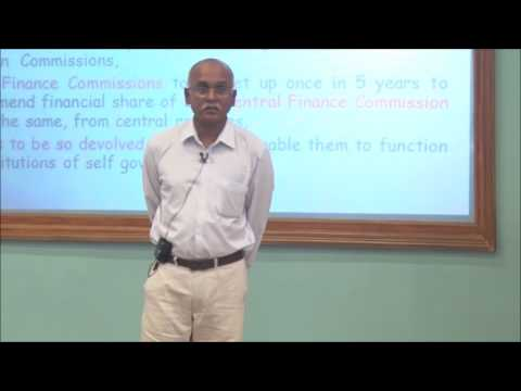 Policy BootCamp 2016: T R Raghunandan On Fiscal Federalism & Fiscal Decentralization In India
