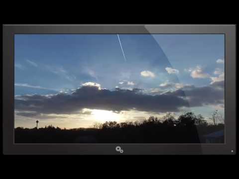Mysterious cloud accompanied by a mysterious sound Slovakia 31.10.2016