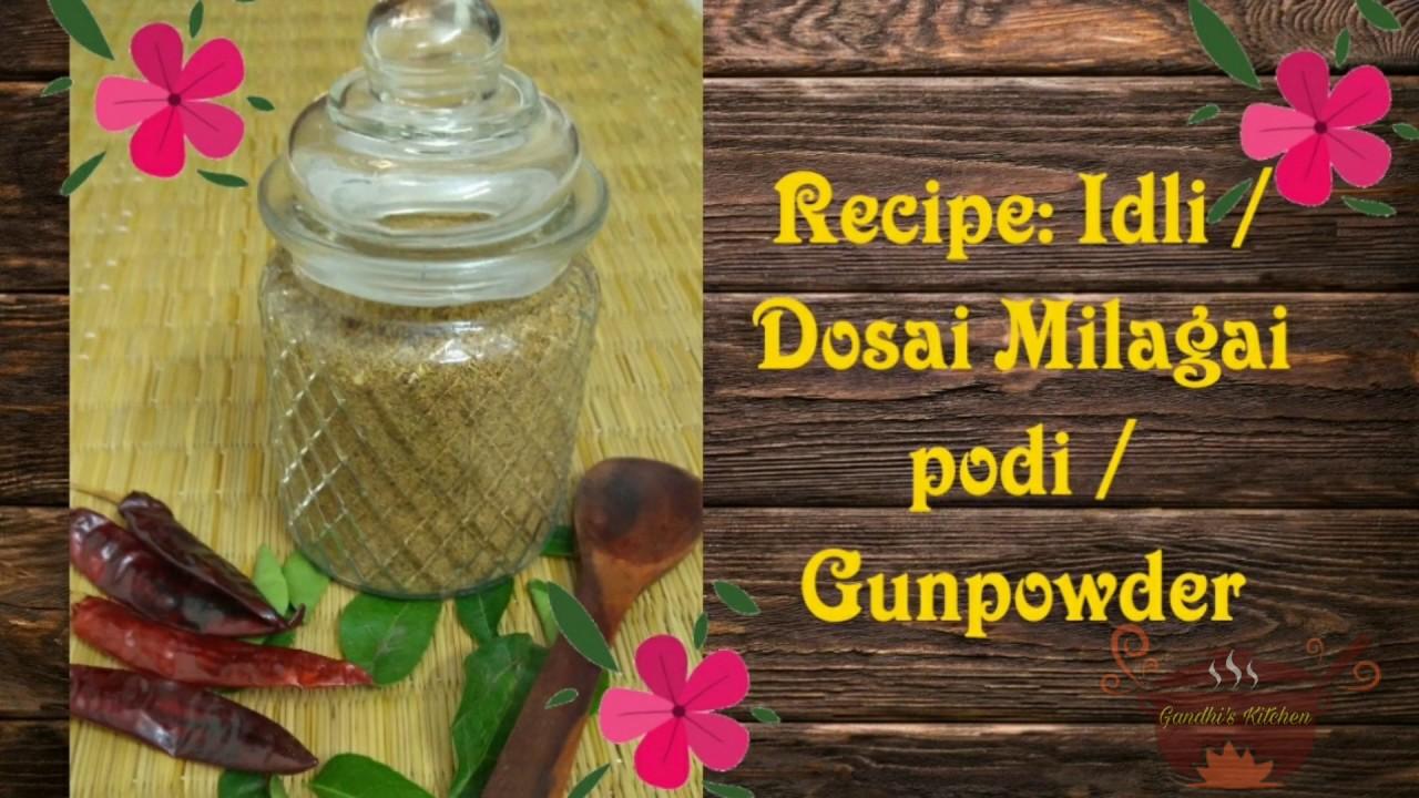 Traditional Idli / Dosai Milagai podi# Gun powder# பாரம்பரிய இட்லி தோசை மிளகாய் பொடி
