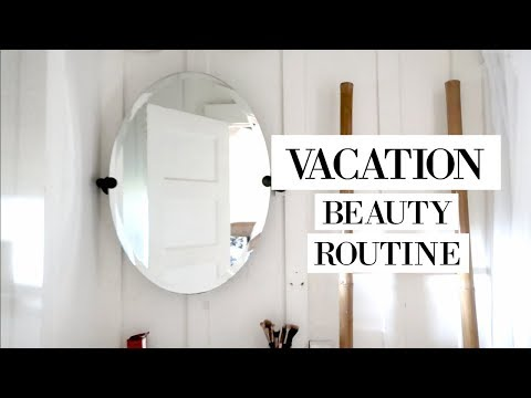 🌴 My Vacation Beauty Routine | allanaramaa