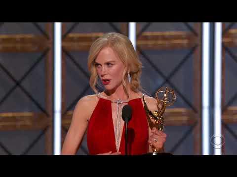 Nicole Kidman Highlights Domestic Abuse Awareness in Big Little Lies Emmys Win Speech