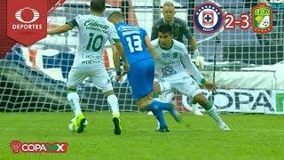 Resumen | Cruz Azul 2 - 3 León| Copa MX - J2 - Cl19 | Televisa Deportes