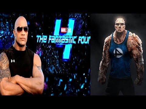 THE ROCK CONFIRMS HE WILL JOIN THE MCU!? THE ROCK SET TO PLAY THE THING IN MCU FANTASTIC 4!