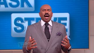 Ask Steve: Boys do EVERYTHING because of girls || STEVE HARVEY