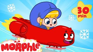 Morphle On Ice My Magic Pet Morphle  Cartoons For Kids  Morphle TV  BRAND NEW