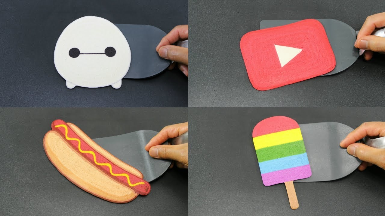 Download Easy Pancake Art for Beginners   DIY Simple Technique