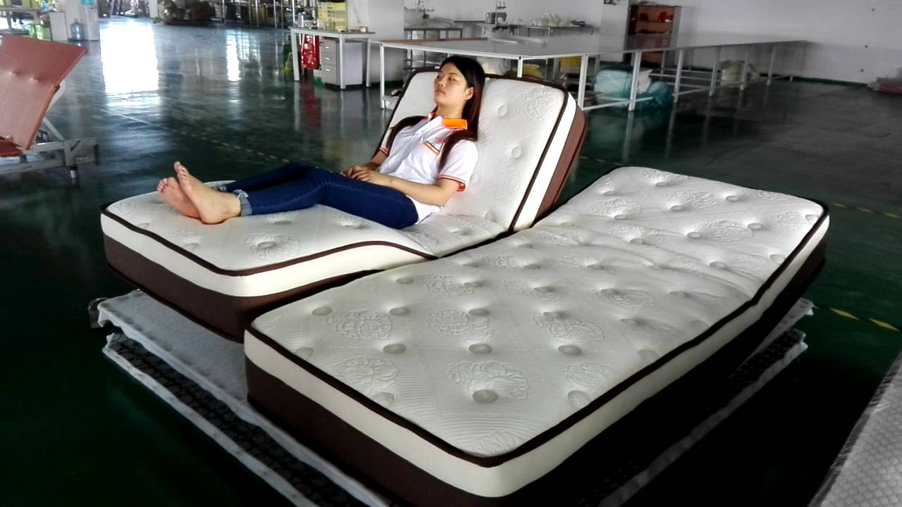 latest double bed designs foldable queen size mattress ...