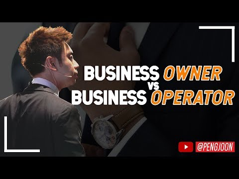 How To Be A Business Owner, Not A Business Operator