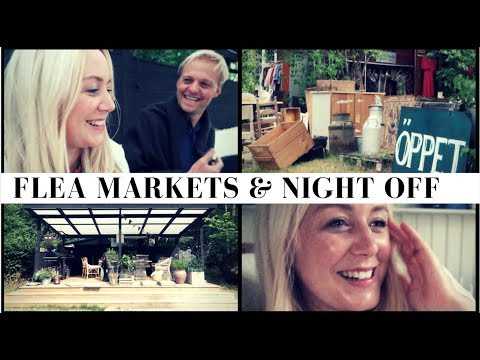 SWEDEN #4 | Swedish Flea Markets & First Night Off | SJ Strum