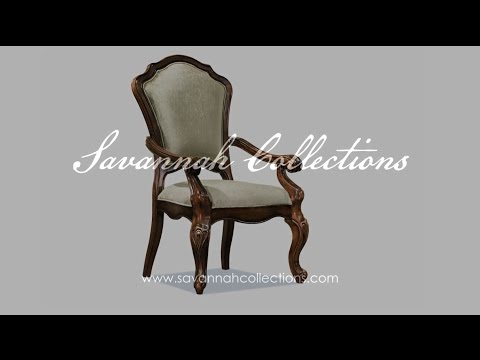 Victorian Furniture Dining Chair by Savannah Collections - Drexel Heritage