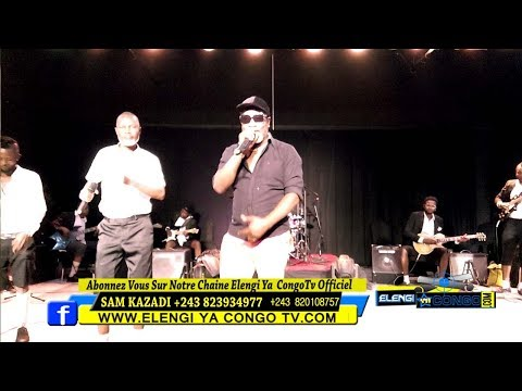 Eric Tutsi Azongi Chez Koffi Olomide Ba Anciens Nioso Ya Quartier Latin Bako Zala Pona Concert Ya
