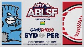 #ABLSF GAME THREE | Sydney Blue Sox @ Perth Heat