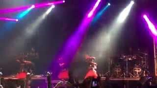 BABYMETAL and DragonForce secret set Gimme Choco!! at Download Festival 2015 06 12