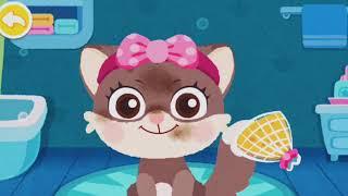 #игры для малышей#салон красоты для животных#макияж для зверюшек#весёлые игры #игры для детей
