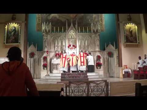 Votive Solemn Mass Sacred Heart of Jesus AD 2016