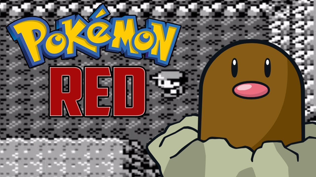 let s play pokemon red part 5 diglett cave flash youtube