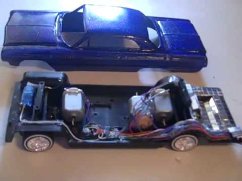 Playerz Hydraulics 1964 Impala how to do video lowrider plastic model part 1