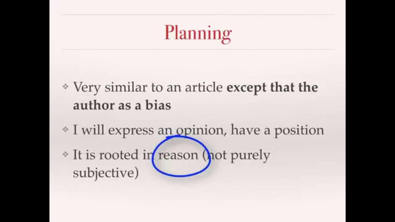 persuasive editorial article