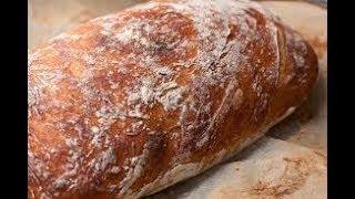 Простой рецепт хлеба - Чиабатта