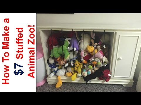 How to build a 7 stuffed animal zoo using repurposed furniture how to build a 7 stuffed animal zoo using repurposed furniture solutioingenieria Choice Image