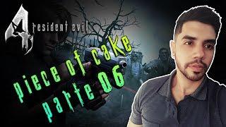 RESIDENT EVIL 4 HD MOD PIECE OF CAKE (PROFISSIONAL) AO VIVO #6