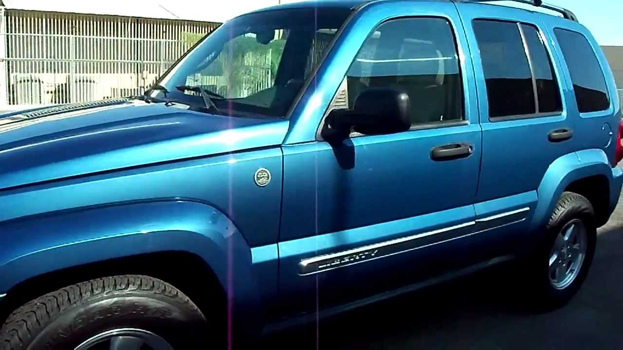 2005 jeep liberty sport diesel 4x4 youtube. Black Bedroom Furniture Sets. Home Design Ideas