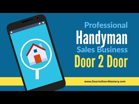 Professional Handyman Service Business Question Answered With Opener Sales Pitch