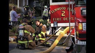 """Elmwood Park NJ Fire Dept 2nd Alarm Fire 64 Florence Pl """"Faces from the Fireground"""""""