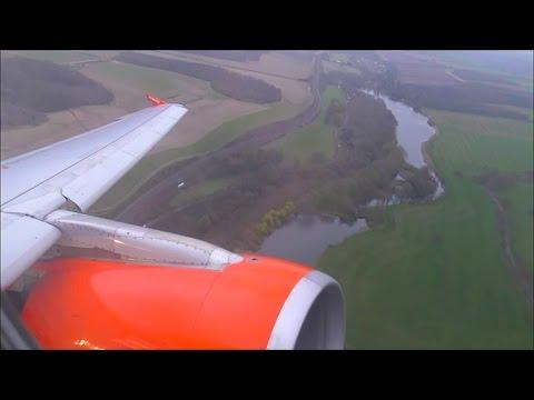 EasyJet Airbus A319-111 | London Luton to Belfast Int'l *Full Flight*