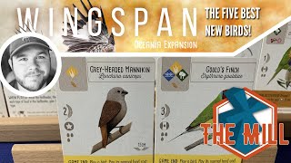 The Five Best New Birds in Wingspan Oceania - The Mill