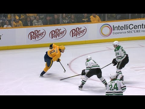 Filip Forsberg dazzles on penalty kill with terrific puck control