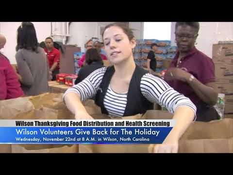 Wilson OIC Thanksgiving Food Distribution