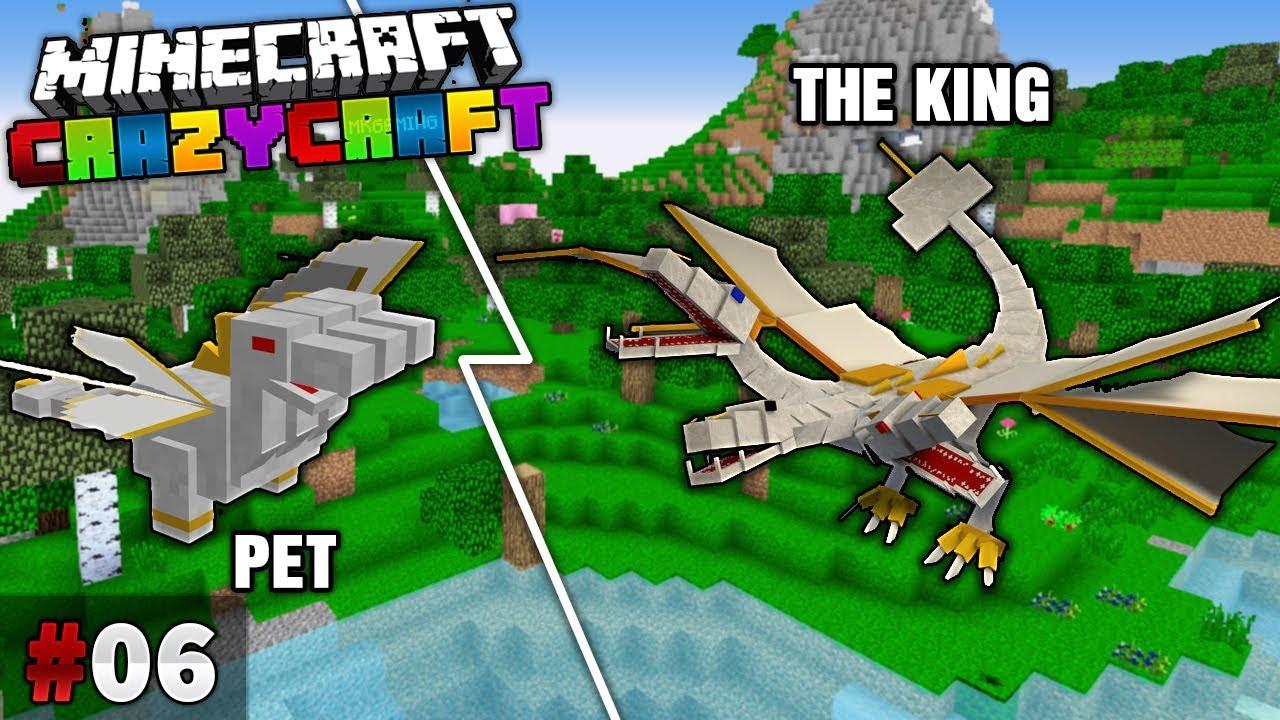 MK Crazycraft – Tập 6 | TIÊU DIỆT TRÙM CUỐI THE KING và SỞ HỮU PET THE KING
