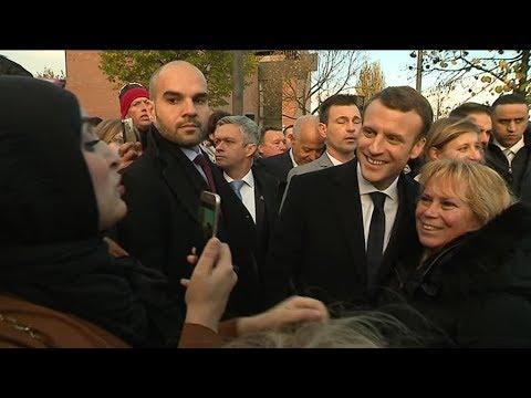 Comment Emmanuel Macron a-t-il été accueilli lors de son déplacement dans le Nord ?