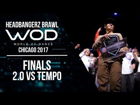 Tempo vs  2.0 | Headbangerz Brawl Finals | World of Dance Chicago 2017 | #WODCHI17